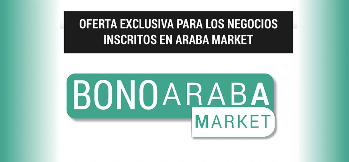 Araba Market Bonuak, Arabako landa-inguruneko negozioetan kontsumoa sustatzeko eskaintza esklusiboa