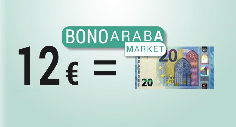 Cada 61 segundos se ha comprado un Bono Araba Market en los primeros 20 días de esta campaña